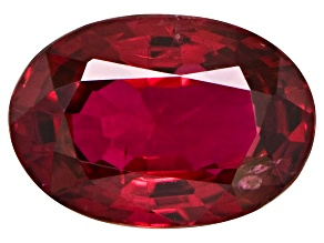Red Spinel 6x4mm Oval .50ct