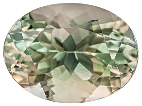 Green Sunstone 8x6mm Oval Minimum .90ct