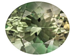 Green Sunstone 12x10mm Oval Minimum 3.65ct