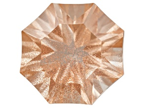 Sunstone 8mm Fancy Shape Snowflake Cut 1.65ct
