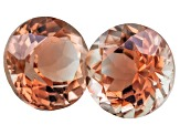 Red Sunstone 6mm Round Minimum 1.50ctw Set Of 2