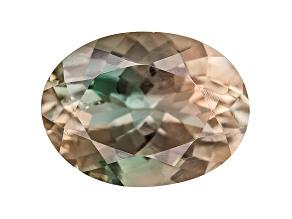Bi-Color Pastel Sunstone mm Varies Oval Minimum .95ct
