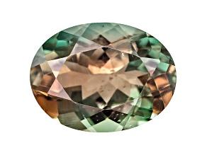 Bi-Color Sunstone 8x6mm Oval Minimum .90ct