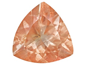 Peach Sunstone Aventurescence 10.5mm Trillion 3.00ct