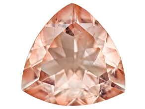 Peach Sunstone Aventurescence 8mm Trillion 1.50ct
