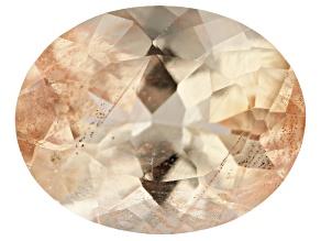 Peach Sunstone Aventurescence 9.5x7.5mm Oval 1.75ct