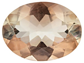 Peach Sunstone Aventurescence Oval 1.35ct