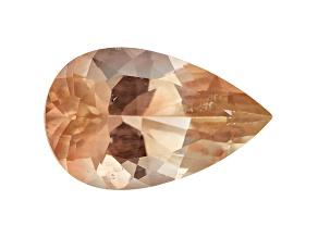 Peach Sunstone Aventurescence mm Varies Pear Shape 1.50ct