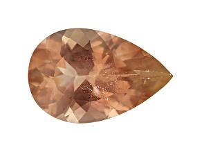 Peach Sunstone Aventurescence mm Varies Pear Shape 2.00ct