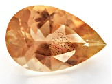 Peach Sunstone Aventurescence mm Varies Pear Shape 2.00ct