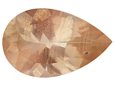 Peach Sunstone Aventurescence Pear Shape 2.50ct