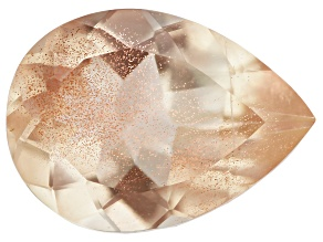 Peach Sunstone Aventurescence Pear Shape 1.25ct