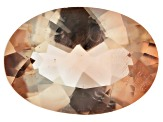 Peach Sunstone Aventurescence mm Varies Oval 2.25ct
