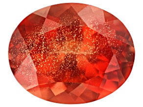 Red Sunstone 10x8mm Oval 2.62ct