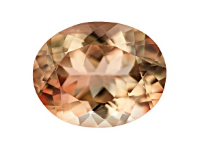 Bi-Color Sunstone 10x8mm Oval 2.20ct