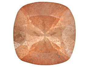 Peach Sunstone Aventurescence 9mm Square Cushion 2.75ct