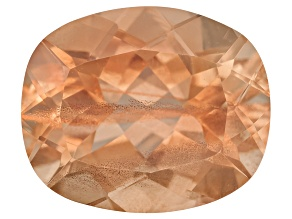 Peach Sunstone Aventurescence 12x10mm Rectangular Cushion 4.76ct