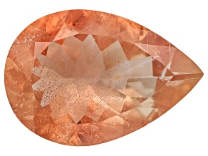 Peach Sunstone Aventurescence Pear Shape 3.00ct