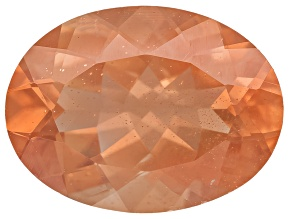 Peach Sunstone Aventurescence Oval 1.75ct