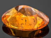 Garnet Spessartite 7x5mm Oval .80ct