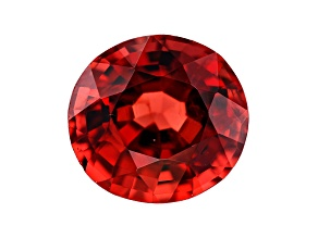 2.89ct Red Burmese Spinel 9x8.5mm