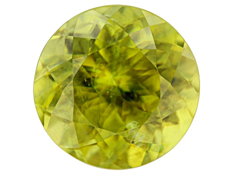 Sphene 10mm Round 4.37ct