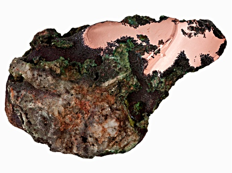 Copper-Butchite Mineral Specimen Small Size Free Form