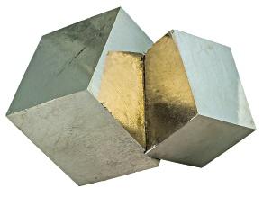 Pyrite Mineral Specimen Small Cube