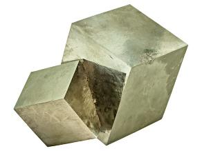 Pyrite Mineral Specimen Large Cube
