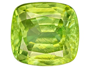 Sphene Rectangular Cushion Mixed Step 1.25ct