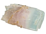 Morganite And Aquamarine Mineral Spcimen 1 1/2x2 inches Free Form