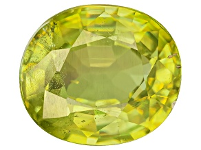 Sphene 7x5mm Oval Mixed Step 1.00ct