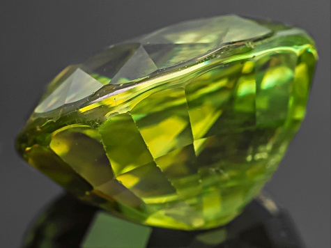 Sphene Oval Mixed Step 3.00ct