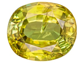 Sphene Oval Mixed Step 3.75ct