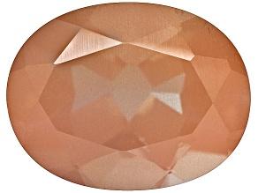Redish Brown Feldspar 9x7mm Oval 1.50ct