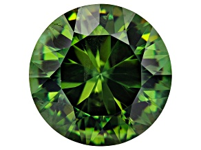 9.86ct 14mm Round Demantoid Garnet Mined: Namibia, Cut: USA