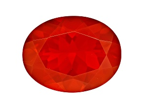 Fire Opal 9x7mm Oval 1.25ct