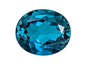 London Blue Topaz 12x10 Oval 4.75 ct