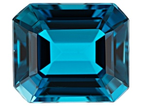 10.75ct min wt. London Blue Topaz 14x12mm Rect Oct