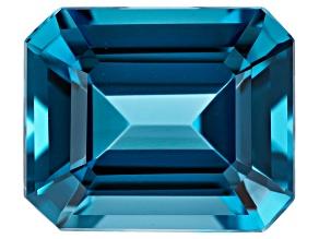 6.25ct min wt. London Blue Topaz 12x10mm Rect Oct