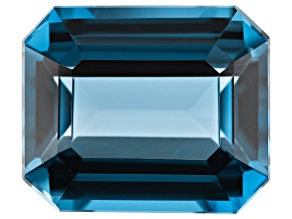 7.00ct min wt. London Blue Topaz 12x10mm Rect Oct