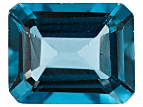 3.71ct London Blue Topaz 10x8mm Rect Oct