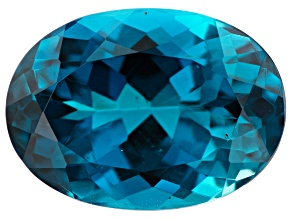 7.10ct min wt. London Blue Topaz 14x10mm Oval