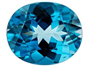5.78ct London Blue Topaz 12x10mm Oval