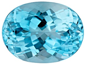 13.00ct min wt. Sky Blue Topaz 16x12mm Oval