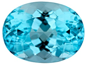 12.00ct min wt. Sky Blue Topaz 16x12mm Oval