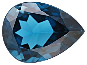 London Blue Topaz 16x12mm Pear Shape 10.75ct