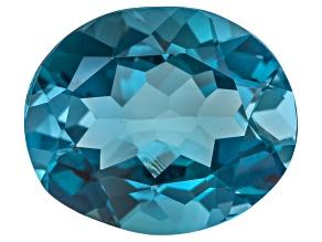 London Blue Topaz 14x12mm Oval 8.00ct