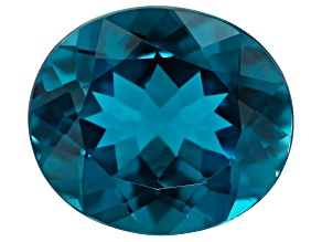 London Blue Topaz 7.25ct min wt. 14x12mm Oval