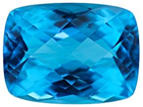 Swiss Blue Topaz 11.85ct 15.5x11.5mm Rect Cush